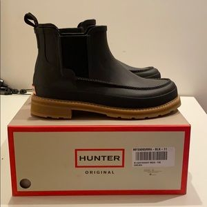 HUNTER lightweight Chelsea boots - US 10